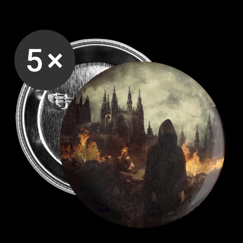 Jerusalem Burning - Buttons small 1''/25 mm (5-pack)