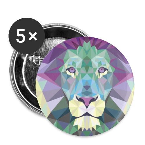 LYON png - Paquete de 5 chapas pequeñas (25 mm)