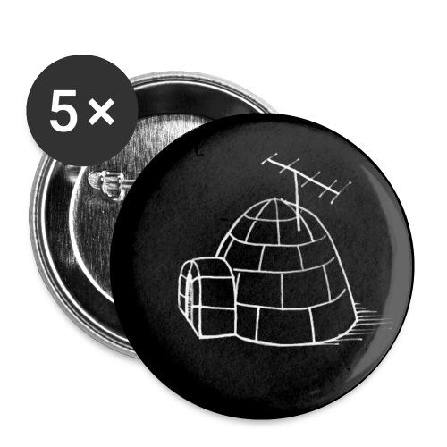 Iglu-Button - Buttons small 1''/25 mm (5-pack)
