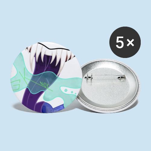 Gaming Kollektivet Norge (GK-NOR) - Liten pin 25 mm (5-er pakke)