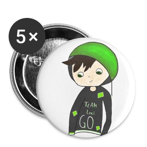 LuciGo Merch - Buttons klein 25 mm
