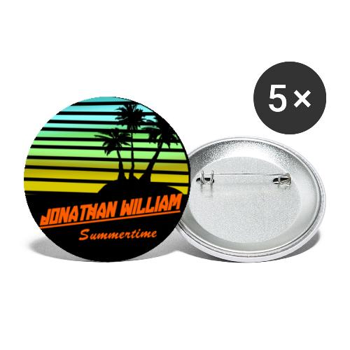 Jonathan William Summertime Extra - Buttons small 1''/25 mm (5-pack)