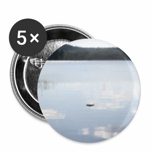 landscape - Buttons small 1''/25 mm (5-pack)