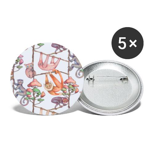 Meranti sweet chill - Buttons klein 25 mm (5er Pack)