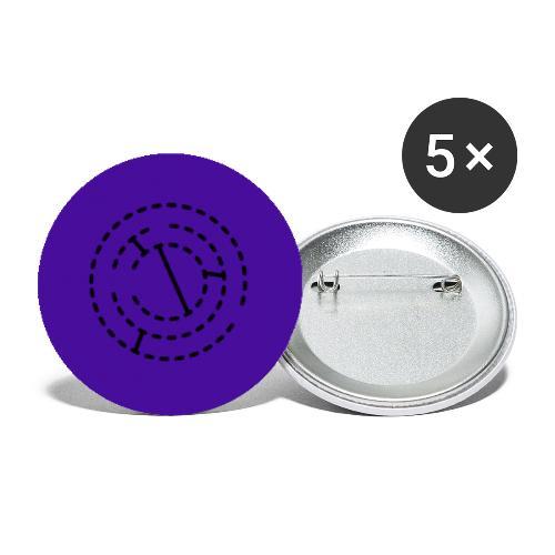 Starmap - Små knappar 25 mm (5-pack)