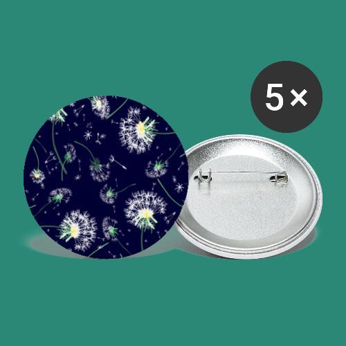 Pusteblumen Poster - Buttons klein 25 mm (5er Pack)