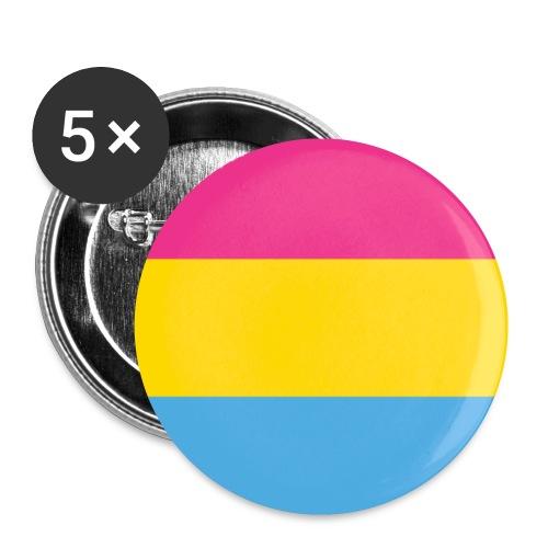 Pansexual - Rintamerkit pienet 25 mm (5kpl pakkauksessa)