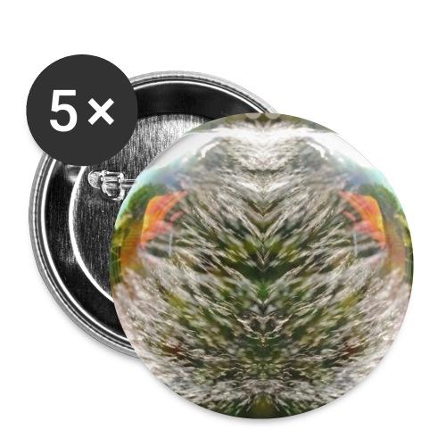 Seifenblase - Buttons klein 25 mm (5er Pack)