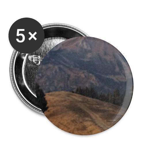 Mountain - Spilla piccola 25 mm