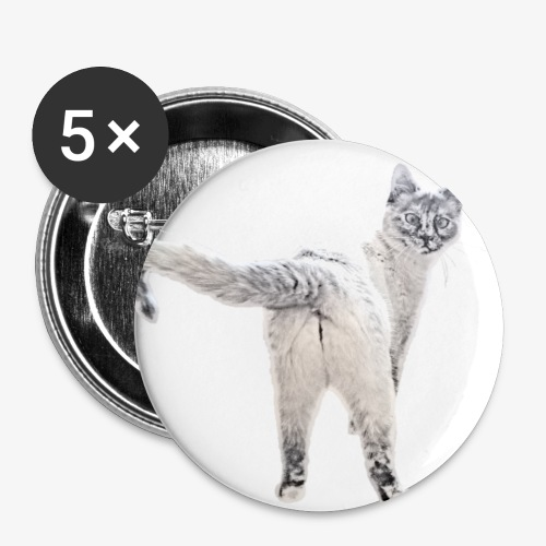 snow1 - Buttons small 1''/25 mm (5-pack)