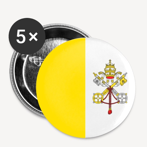 I AM PROUD TO BE ROMAN CATHOLIC - Buttons small 1''/25 mm (5-pack)