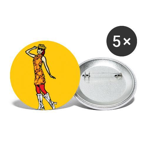 GROOVY 500 illustration - Liten pin 25 mm (5-er pakke)
