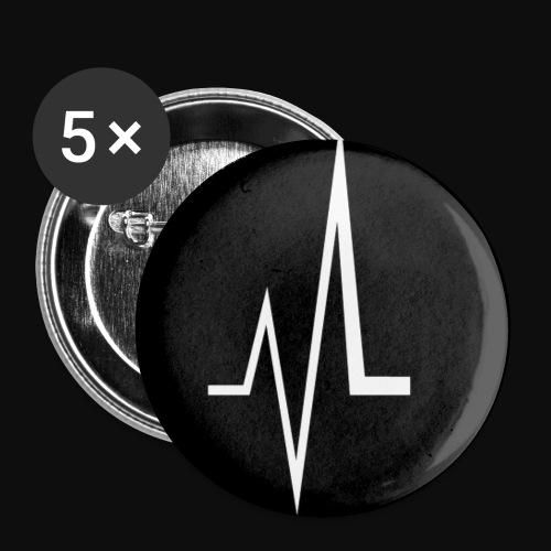 Lass Uns Tanzen - Buttons klein 25 mm (5er Pack)