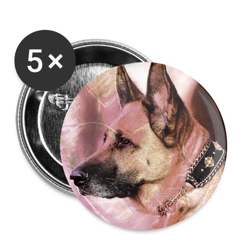 DOGLuxury Love Valentine - Buttons klein 25 mm (5er Pack)