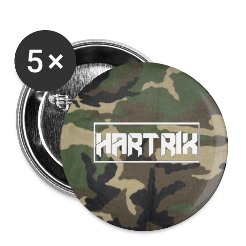 military camo - Buttons klein 25 mm