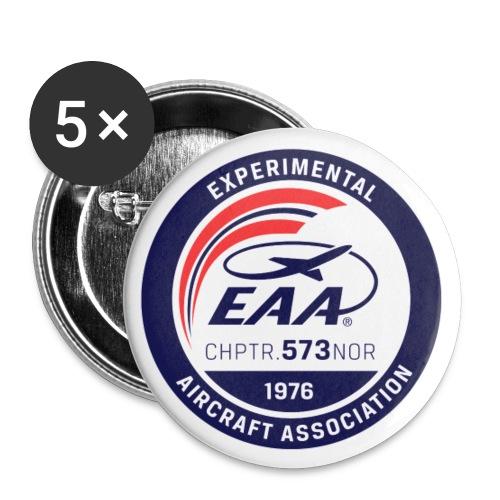 EAA-LOGO-PATCH - Liten pin 25 mm (5-er pakke)