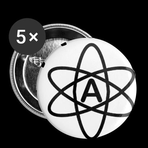 Épinglette L'Athée Rapie - Badge petit 25 mm