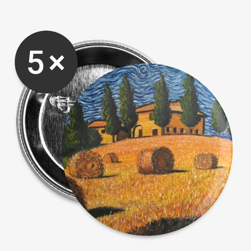 tuscany - Buttons small 1''/25 mm (5-pack)