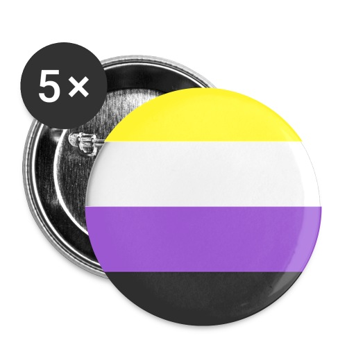 Muunsukupuolinen - Rintamerkit pienet 25 mm (5kpl pakkauksessa)