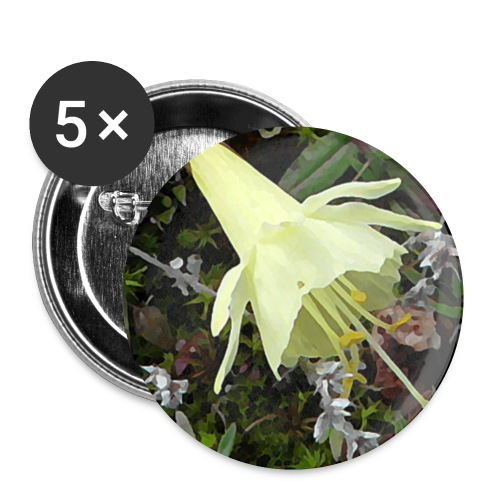 Naturaleza - Paquete de 5 chapas pequeñas (25 mm)