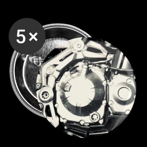Motor Detail - Buttons klein 25 mm