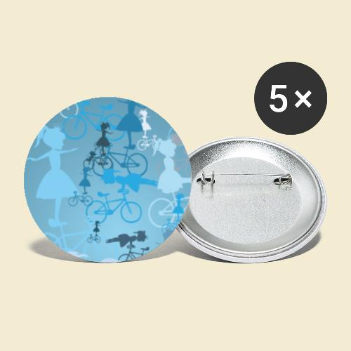 Kunstrad | Artistic Cycling Handy Hülle 01 - Buttons klein 25 mm (5er Pack)