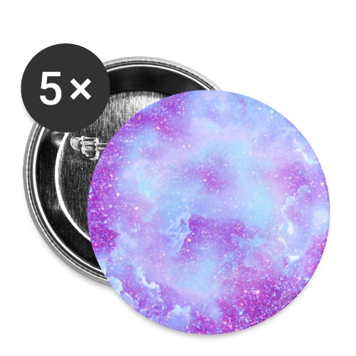 Fairy tale elves dust fairies glitter clouds - Buttons small 1''/25 mm (5-pack)