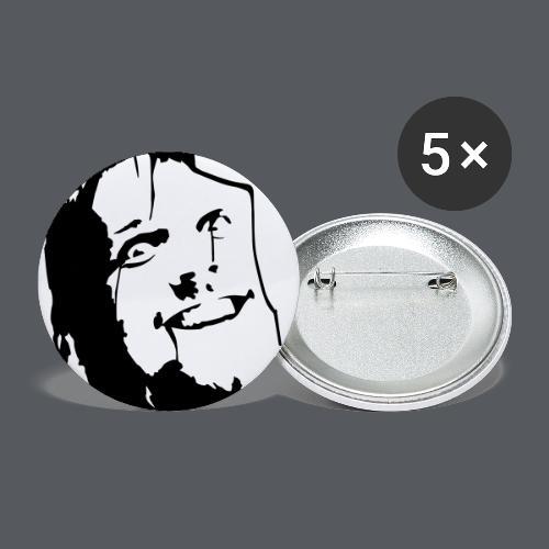 Carnage Cafe face - Små knappar 25 mm (5-pack)