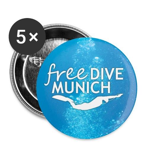 FreeDive Munich underwater - Buttons klein 25 mm