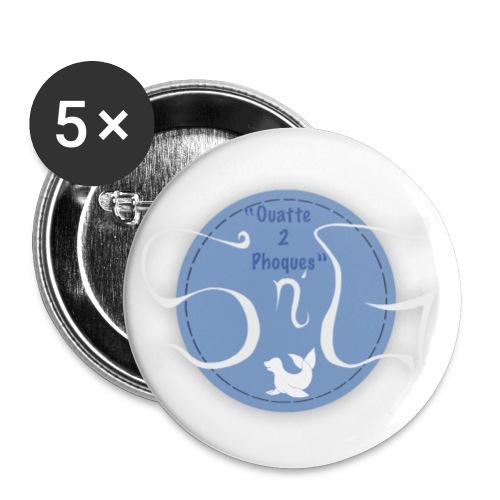 Sn G production logo - Lot de 5 petits badges (25 mm)
