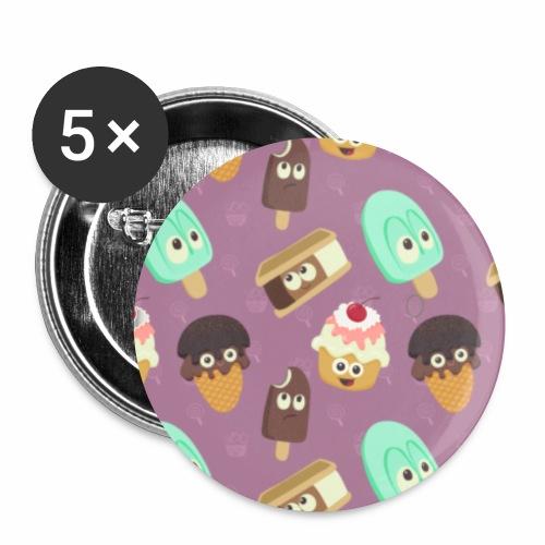 a game of cones - Confezione da 5 spille piccole (25 mm)