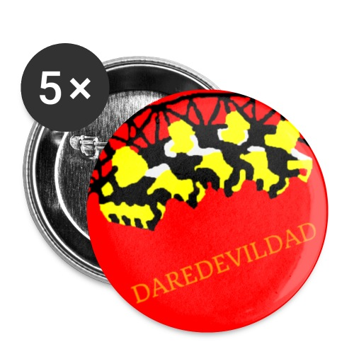 DareDevilDad - Buttons small 1''/25 mm (5-pack)