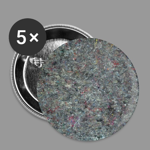 MATERIAL GRAUBUNT_Shirt_q - Buttons klein 25 mm (5er Pack)