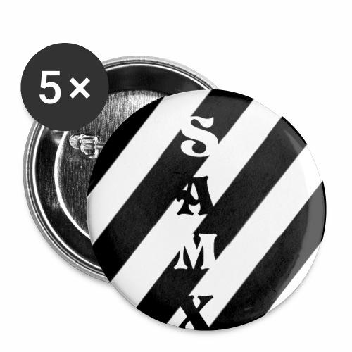 SAMX - Przypinka mała 25 mm (pakiet 5 szt.)