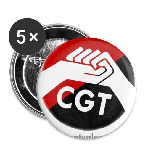 boton png - Paquete de 5 chapas pequeñas (25 mm)