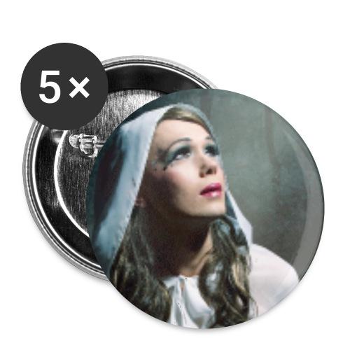 glitter promo1 klein jpg - Buttons klein 25 mm (5er Pack)
