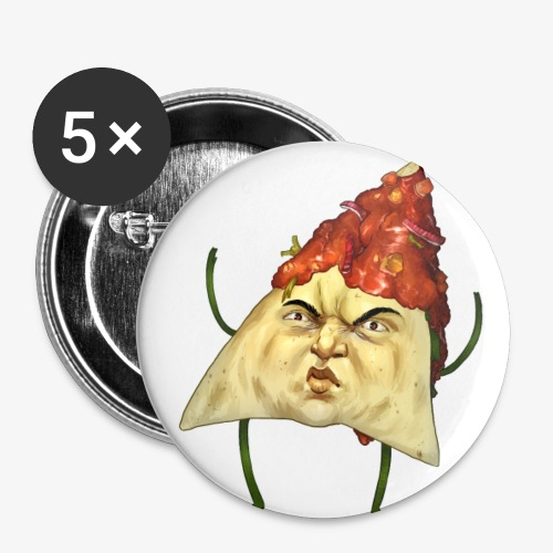Macho Nacho - Buttons small 1''/25 mm (5-pack)