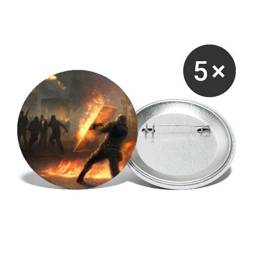 Non Serviam ... I Won't Obey [Riot II] - Buttons small 1''/25 mm (5-pack)