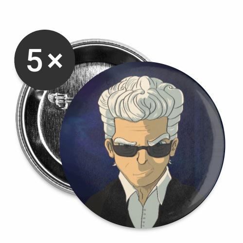 12th Doctor - Confezione da 5 spille piccole (25 mm)