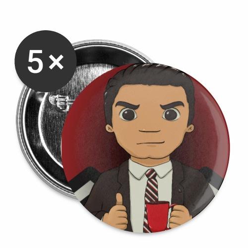 Dale Cooper - Confezione da 5 spille piccole (25 mm)