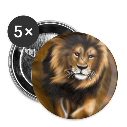 Il vento della savana - Confezione da 5 spille piccole (25 mm)