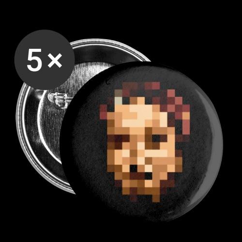 Accessoires PIXELFACE - Buttons klein 25 mm (5er Pack)