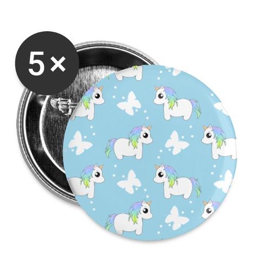 Einhörnchen Schmetterling - Buttons klein 25 mm