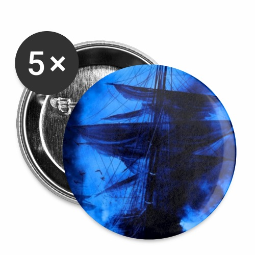 dark veils - Lot de 5 petits badges (25 mm)
