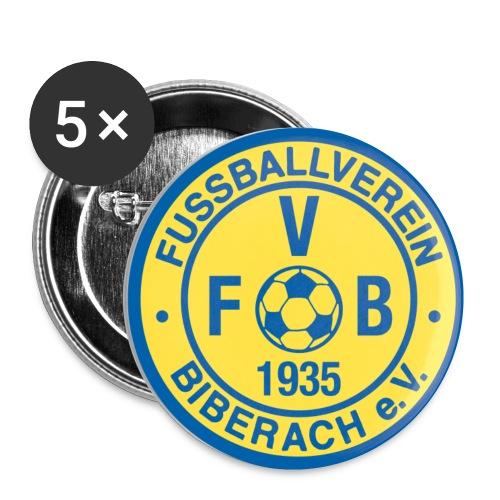 fvb logo 2c - Buttons klein 25 mm (5er Pack)