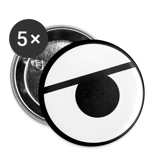 Kure Kure Eyes - Små knappar 25 mm (5-pack)