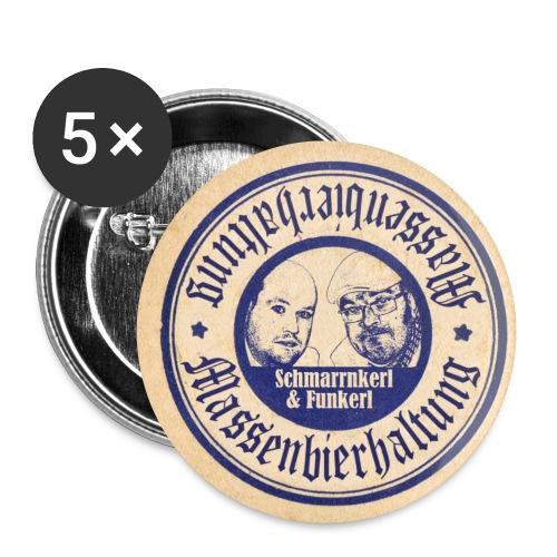 Bierdeckel Schmankerrl und Funkerl jpg - Buttons klein 25 mm (5er Pack)
