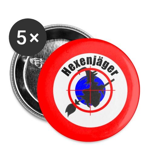 Hexenjäger jpg - Buttons klein 25 mm (5er Pack)