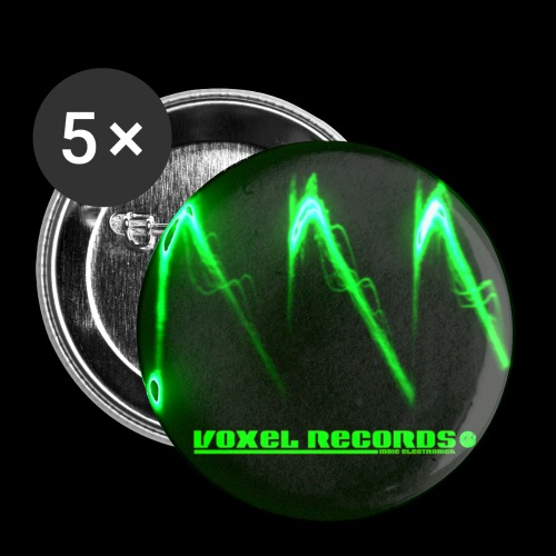 Bad Waveform - Buttons small 1''/25 mm (5-pack)