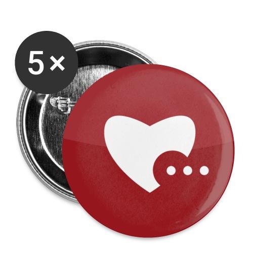 ildw signet - Buttons klein 25 mm (5er Pack)